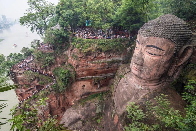 Leshan Giant Buddha Chengdu China