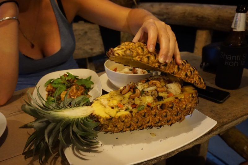 Best food in Thailand pineapple
