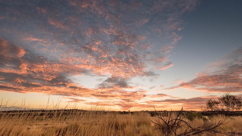 Sunrise in Australia's Northern Territory