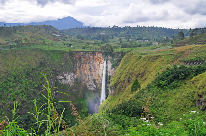 Waterfall Sumatra Indonesia