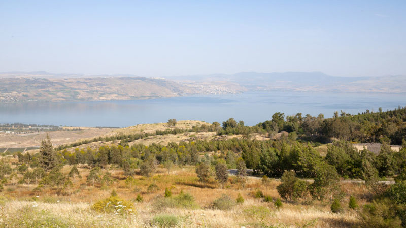 Israel Sea of Galilee