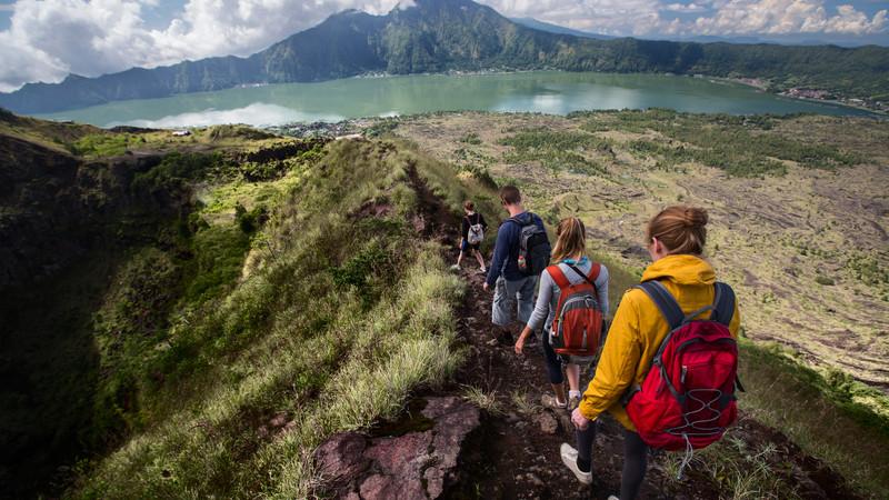 Hiking Mount Batur Bali Indonesia