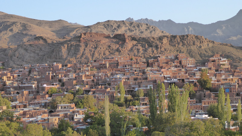Abyaneh mountain town Iran