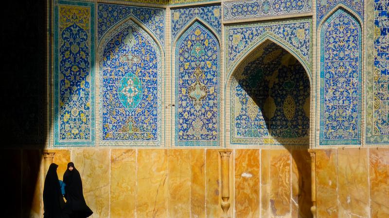 Esfahan mosque Iran