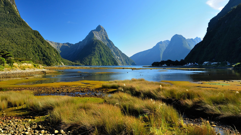 New Zealand's picturesque Milford Sound