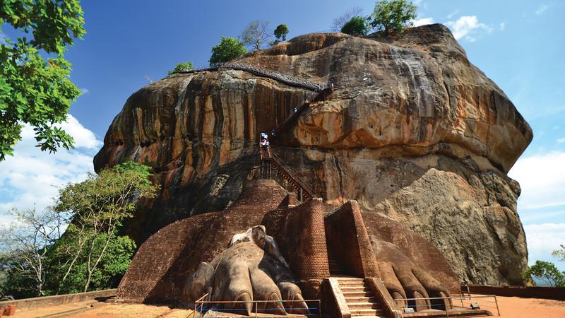 Sri Lanka's Lion Rock Fortress