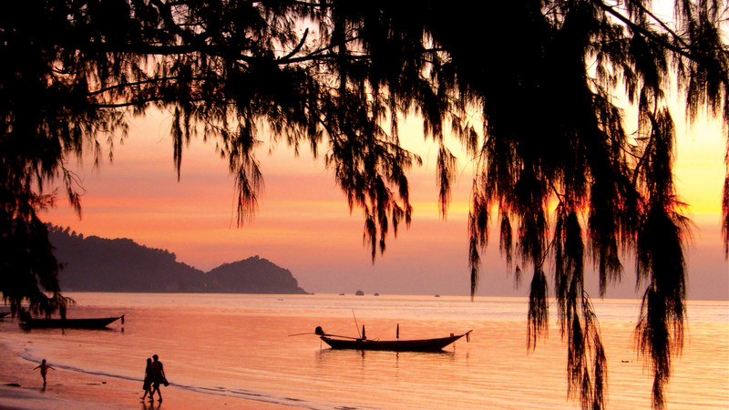 Koh Tao sunset Thailand