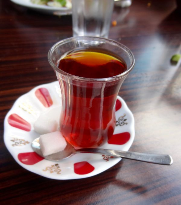 çay tea food in Turkey