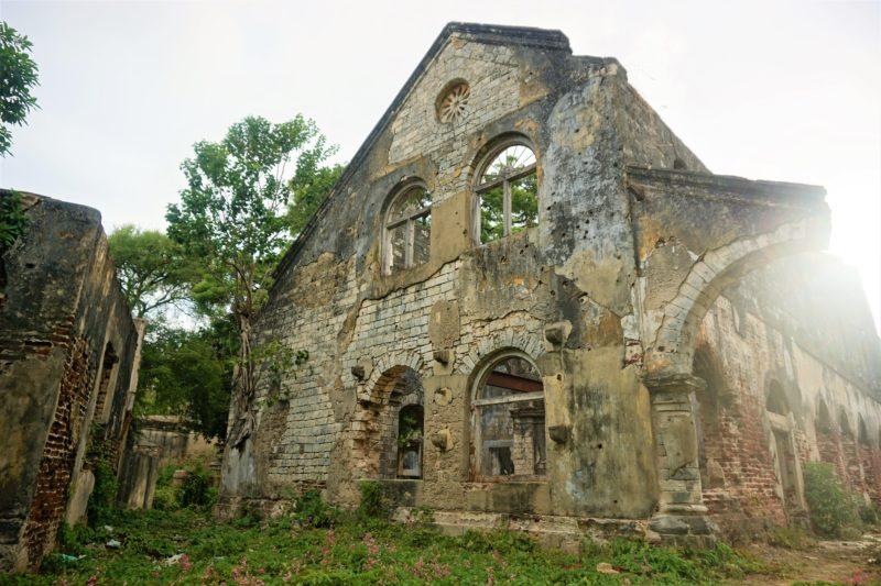 Ruins Jaffna Northern Sri Lanka