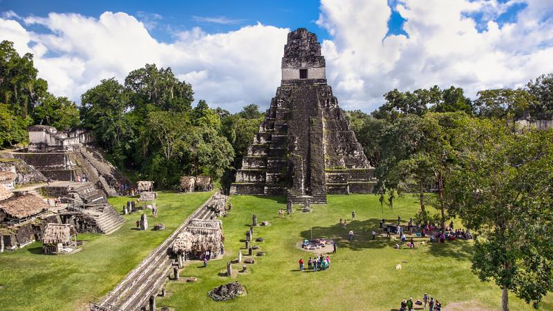 Guatemala facts Tikal