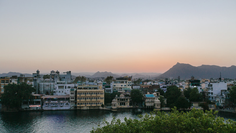 Udaipur sunset solo travel India