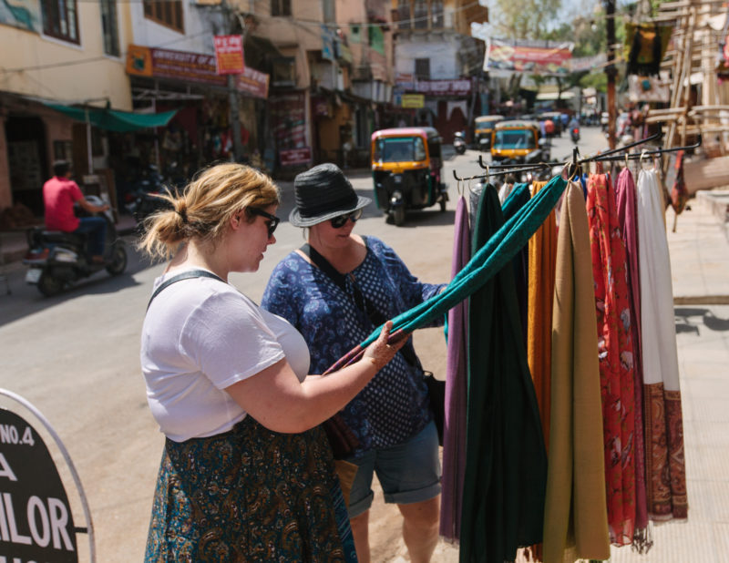 Solo travel India Udaipur shopping