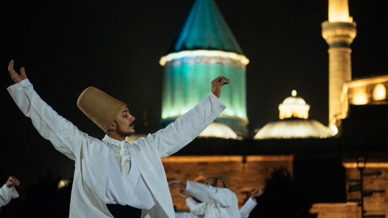 Konya Whirling Dervish food in Turkey
