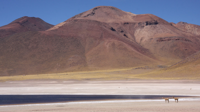 Beautiful views of Atacama landscape