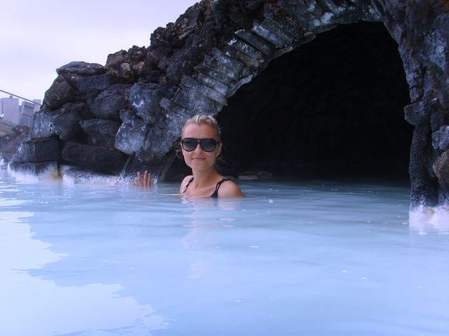 Iceland solo travel Blue Lagoon