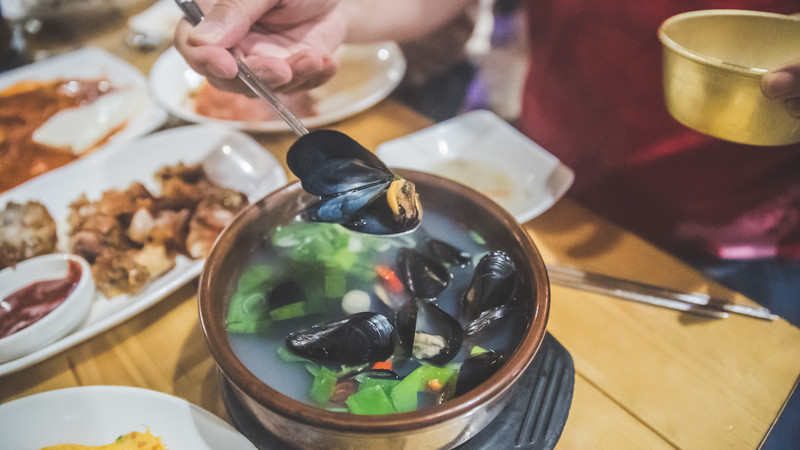 Best Korean food seafood