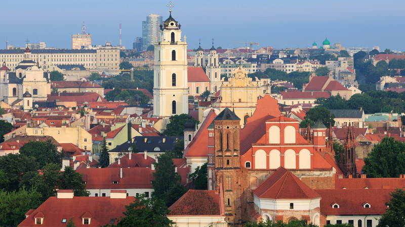 Vilnius travel city