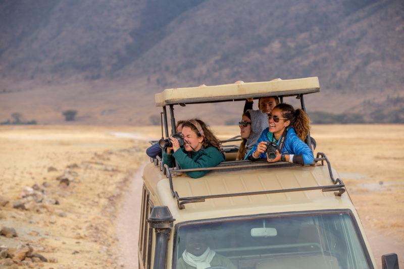 Tanzania guide safari Ngorongoro Crater