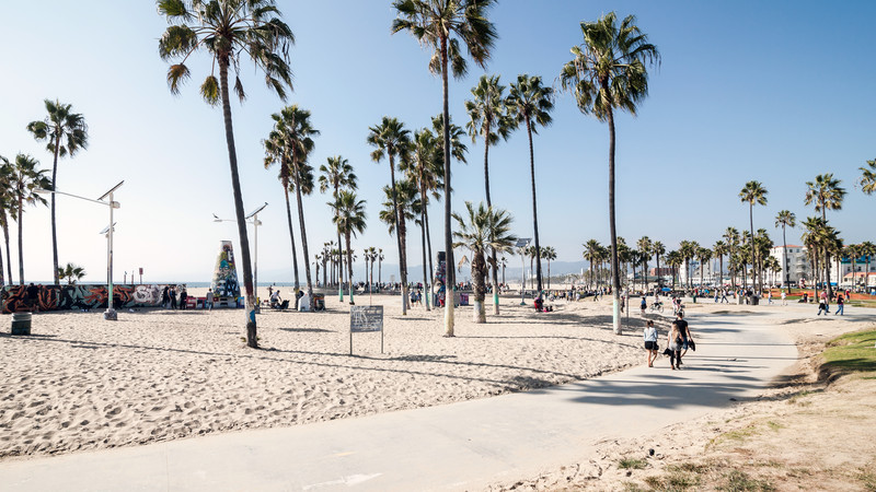 Venice Beach in Los Angeles, California