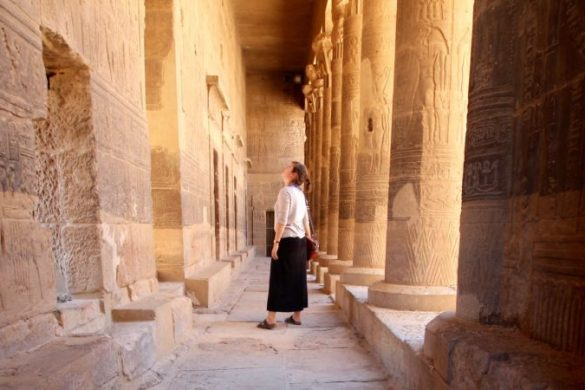 Solo female traveller in Egypt