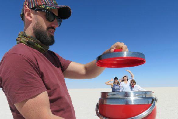 Bolivia tour salt flats