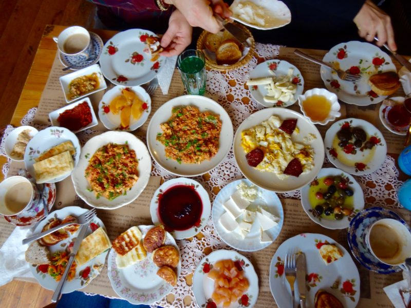 Food in Turkey breakfast
