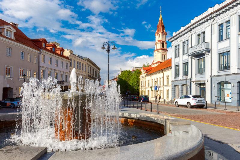 Vilnius travel old town