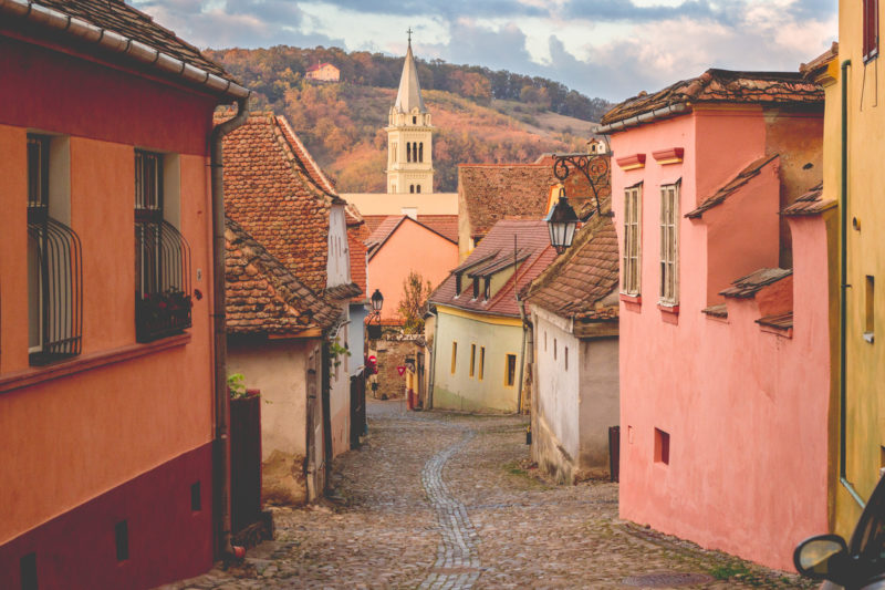 Europe on a budget Sighisoara Romania