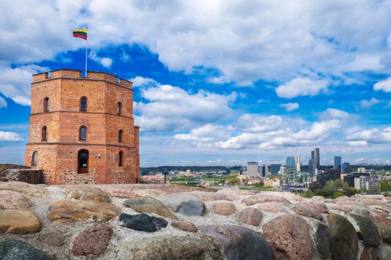 Vilnius travel Gediminas Tower