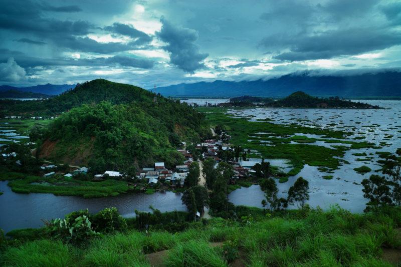 Northeast India Loktak Lake