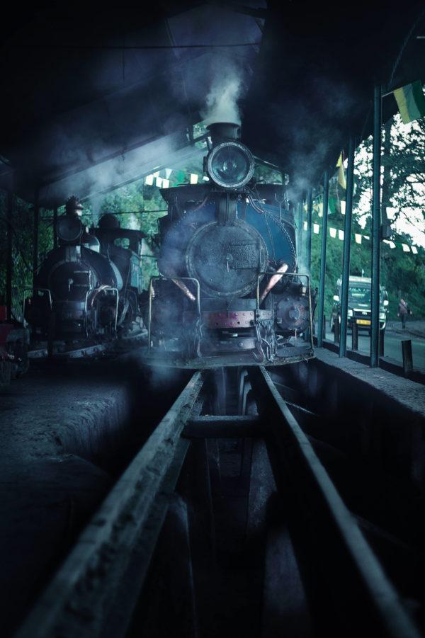 Northeast India toy train Darjeeling