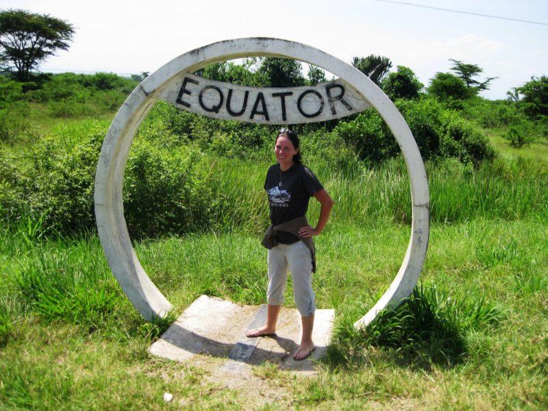 Equator Uganda solo travel
