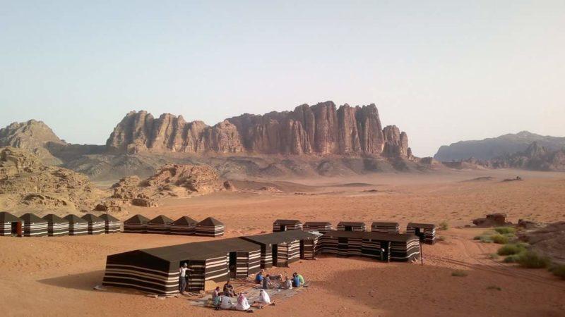 Jordan bike tour Desert Camp