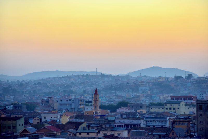 Madagascar travel sunset
