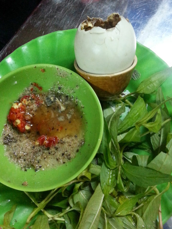 hot vit lon vietnam food
