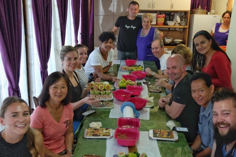 Balkans tour cooking class