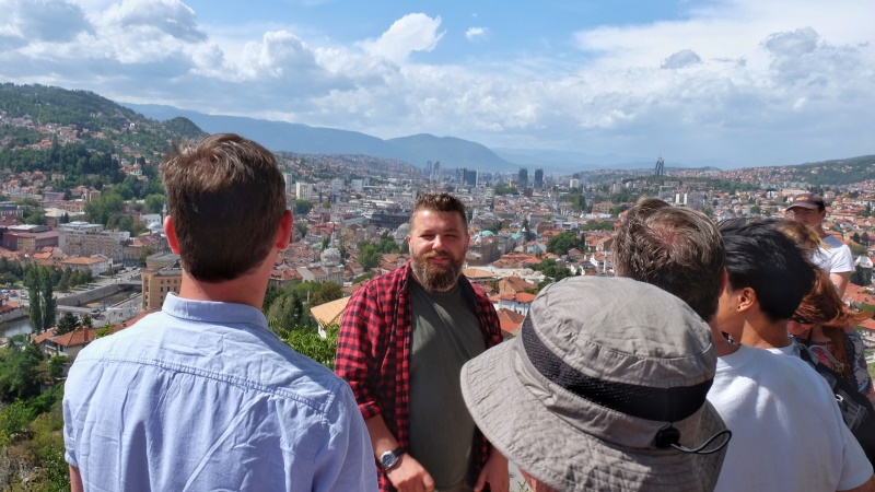 Balkans tour Sarajevo