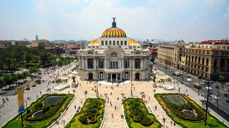 Belles Artes, Mexico City