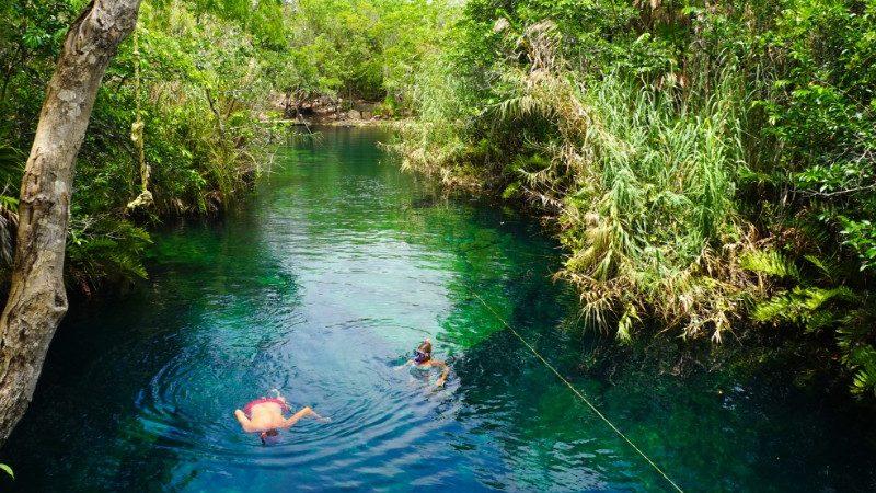 Cenote Escondido, Mexico