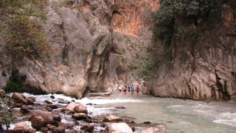 Exploring Saklikent Gorge
