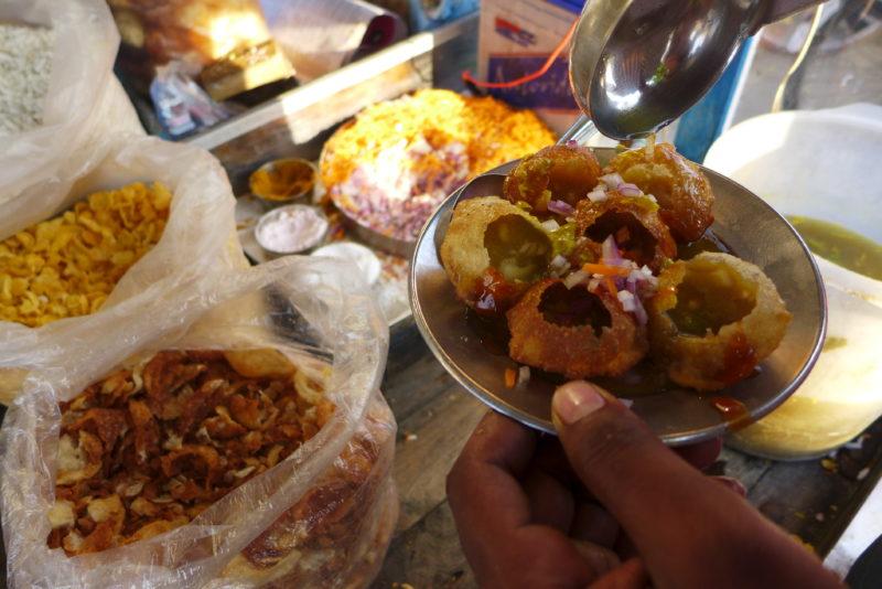 best food in India Kati Roll Pani Puri