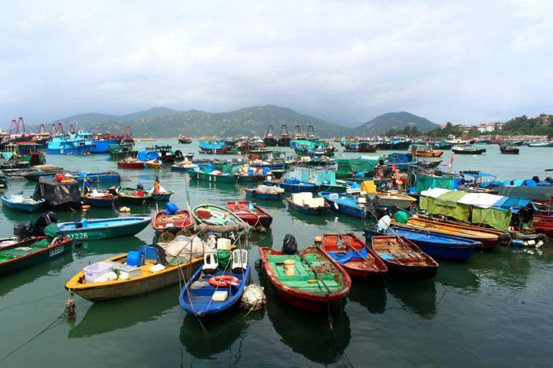 Cheung Chau's waterfront
