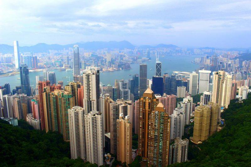 Victoria Peak skyline Hong Kong