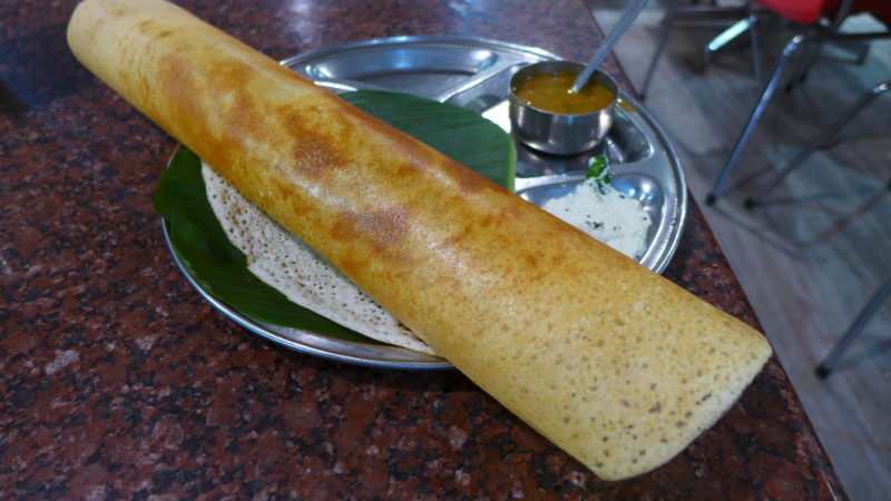 best food in India Dosa