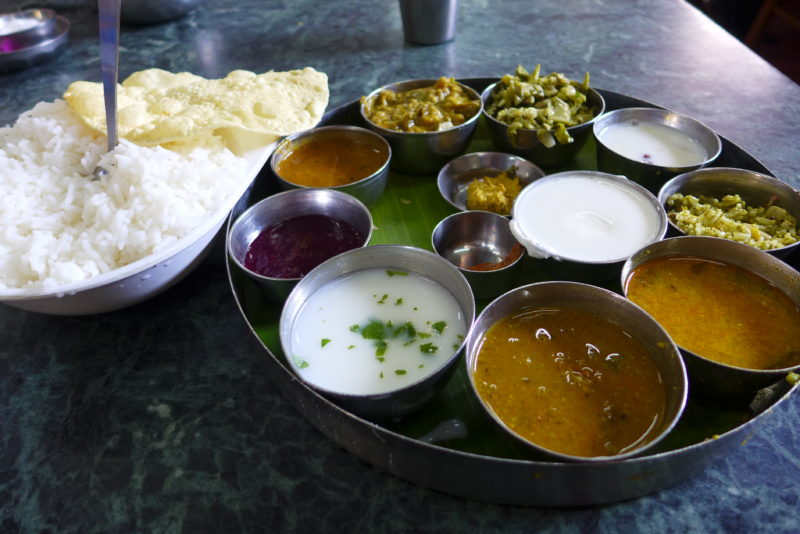 best food in India Thali