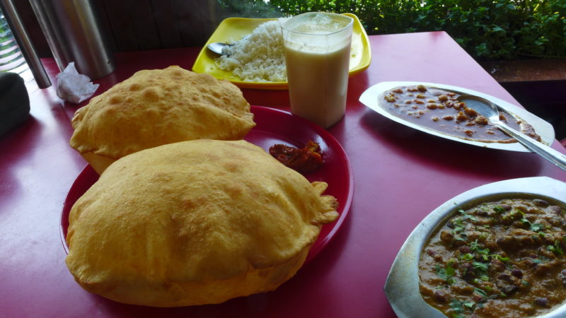 best food in India Chole Bhature
