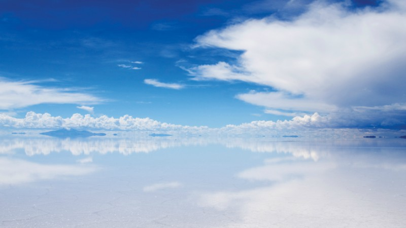 Reflections across Salar de Uyuni