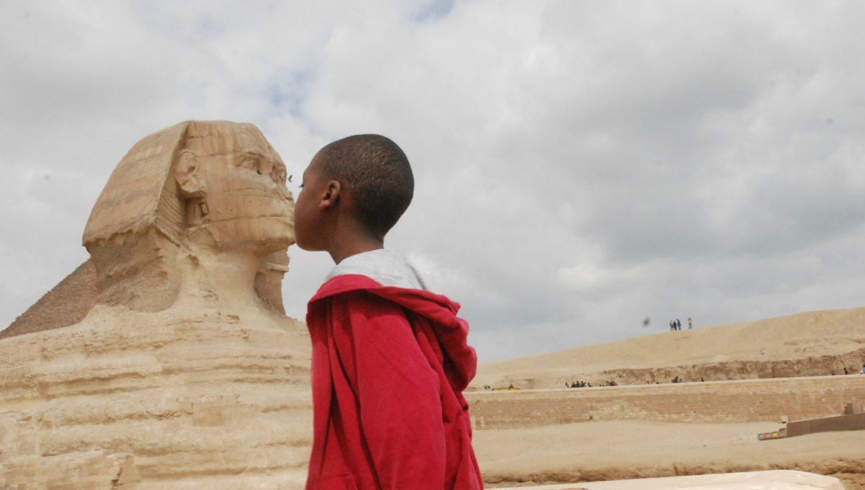 teenager travel Egypt