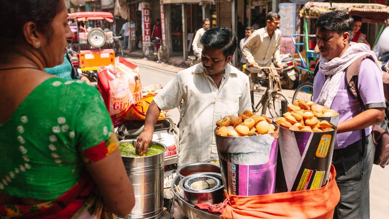 Best food in India Delhi street food