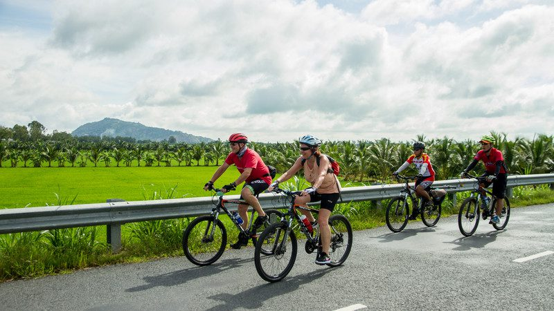 best destinations for cycling Vietnam